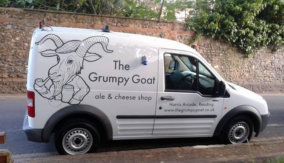 the goat van